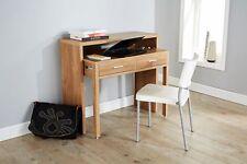 Oak Desk Extending Console Table Home Office Computer Storage Table Regis