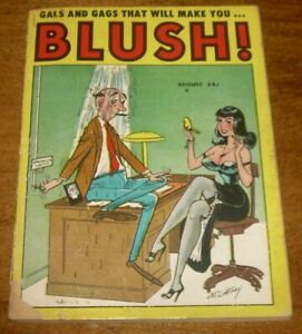 GALS and GAGS that will make you BLUSH cartoon digest scarce BILL WARD cover/art