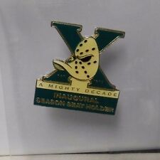 Mighty Ducks of Anaheim Inaugural Season Seat Holder A Mighty Decade Pin 93-94