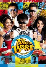 All The Best - Ajay Devgn, Bipasha Basu - Official Hindi Movie DVD ALL/0