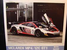 """DECALS 1/24 Mc LAREN MP4/12C GT1 """"HEXIS"""" 2012 - Cartograf 24D-004"""
