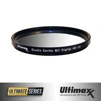 62mm UV Ultravoilet Lens HD Protector Filter by ULTIMAXX