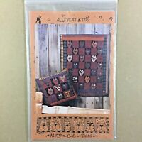 Alleycat Kids quilt pattern Alleycat Tales #234 wall hanging & pillow cats
