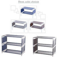 2/3 Tiers Shoe Rack Storage Shelf Organizer Holder Shoes Tower Rack Cabinet New
