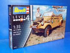 "Revell 3253 1:35th scale German Staff Car Type 82 ""Kubelwagen"" With crew & tent"
