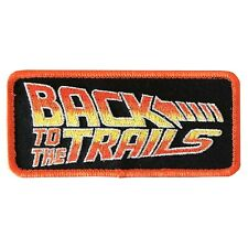 Back to the Trails Embroidered Patch