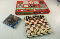 Spielesammlung Konvolut Magnetschach Spielemagazin Geschicklichkeitsspiel M-3158