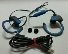 WORKING Beats by Dr Dre Powerbeats 2 Wireless In-Ear Headphone Flash Blue *READ