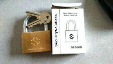 LOCKSMITH SECURITY SOLUTIONS PADLOCK S 2060 B DOUBLE LOCKING
