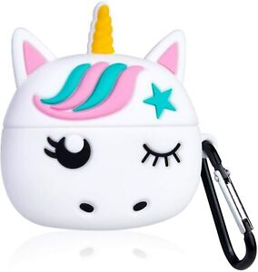 Airpods PRO - White Unicorn Star Soft Rubber Protective Earphone Charging Case