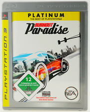 Burnout: Paradise | Sony Playstation 3 PS3 Platinum | komplett in OVP | sehr gut