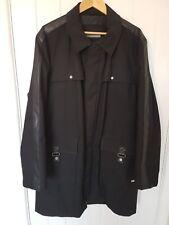 Men's Karl Lagerfeld Black warm coat Size L 44 in. VGC