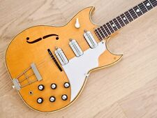 1960s Kay Pro Thinline Speed Demon Swingmaster Vintage Electric Guitar Natural