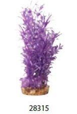 Aqua One A1-28315 Plastic Plant Hygrophila Purple Large For Aquarium & Reptiles