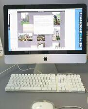 """🔥L👀K  Apple iMac A1311 21.5"""" 2011 Core i3 3.06 GHz 4GB RAM 500GB"""