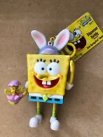 SPONGEBOB CANDY DISPENSER SEALED 2013 EASTER BUNNY CHICK COLLECT COLLECTIBLE