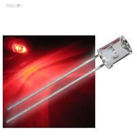 10 LEDs 5mm konkav rot mit Zubehör rote concave LED RED