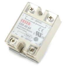 Solid State Relay SSR-40AA 40A AC Relais 80-250V TO 24-380VAC AC  Yg