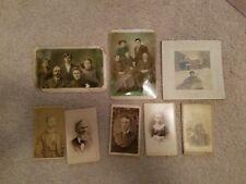 VINTAGE ANTIQUE CABINET CARD, CDV, PHOTO Lot of 56 (25 Original Album)