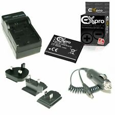 Ex-Pro Camera Battery & Travel Charger DMW-BCN10E for P@ DMC-LF1EB-K
