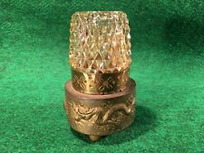 VINTAGE BRASS DOOR PULL-PUSH ~LOVELY FLORAL /& ASIAN DETAILS MADE IN HONG KONG