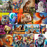 Animal Wild DIY Digital Oil Painting Art Home Decor Wall Paint By Number Kit