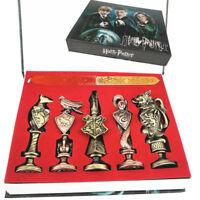 Harry Potter Hogwarts Wax Seal Stamp Schule Wachs Siegel Stempel Siegellack