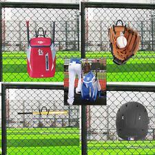 4x Fence Hook Hanger Holder Athlete Dugout Organizer Hanging Baseball Equipment