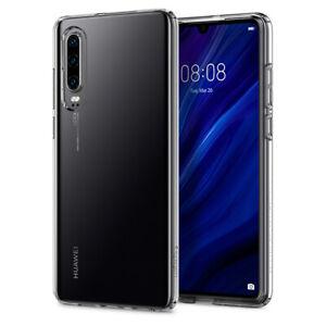 Huawei P30,P30 Pro,P30 Lite | Spigen® [Liquid Crystal] Clear Slim TPU Case Cover
