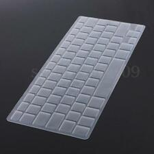 """UK EU Silicon Keyboard Cover Skin protector For Macbook Pro Air 13"""" 15"""" 17"""""""