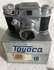 1955 TOYOCA 16MM Sub-Miniature Camera w/ Original Box, Film ~Japan