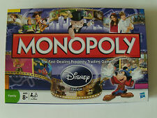 Monopoly Disney Edition Golden Tinkerbell Zinc Movers Complete VGUC
