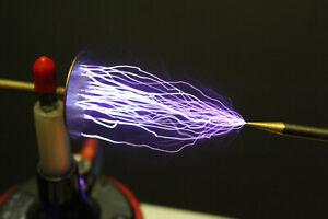 Funkeninduktor 45kV frequenzregelbar mit Polwender , HV-Generator , Netzteil !
