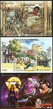 Korea 1959a-1961a S/S, MI Bl.657-659, MNH. Cartoons, Boy and Dog, 1999