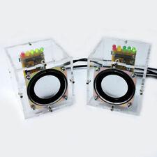 2Pc Mini Speaker Funny Music Amplifier Electronic Box Home Computer Gift DIY Kit