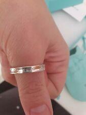 Genuine tiffany silver band ring
