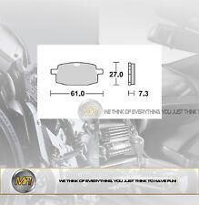 PER FANTIC MOTOR PONY SR 50 DAL 1993 AL 2000 COPPIA PASTIGLIE FRENO ANTERIORI BR