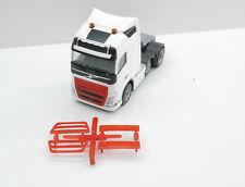 1:87 EM4370 2x Kühlergrill für Volvo in rot  Herpa Umbau Eigenbau
