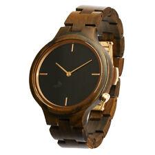 Opis UR-F1 Wooden Wrist Watch for Women (Black&Red Sandalwood,Zebrano,Maple)