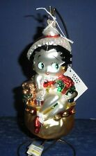 Polonaise Glass Ornament: Betty Boop Toy Bag, AP1253, New in Box