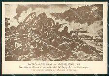 Militari 14º Reggimento Artiglieria da Campagna Grecia 1941 FG cartolina XF3884
