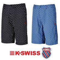 K Swiss Mens AllOver Print Board Shorts Free Tracked Post
