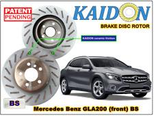 "Mercedes Benz GLA200 disc rotor KAIDON (front) type ""BS"" spec"