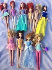 Bulk Mattel Dolls - Disney Theme - Snow White, The Little Mermaid, Princess Etc