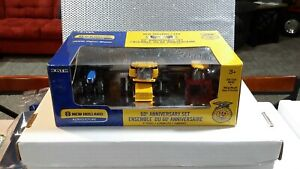 1/64 NEW HOLLAND 60 ANNIVERSARY FFA SET