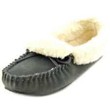 Pantofole da donna Scarpe a ciabatta in camoscio grigio