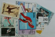Ice Skating 25 Stamps (290)