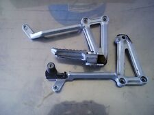 1992 Kawasaki EX250F rear foot pegs mounts EX 250 ninja support brackets