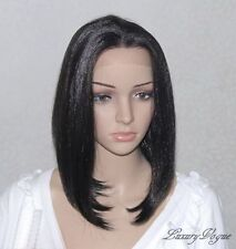 Handsewn Perruque  FULL LACE FRONT Mona Wigs 9123#1B