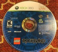 LEGO Rock Band (Microsoft Xbox 360, 2009) DISC ONLY 11307
